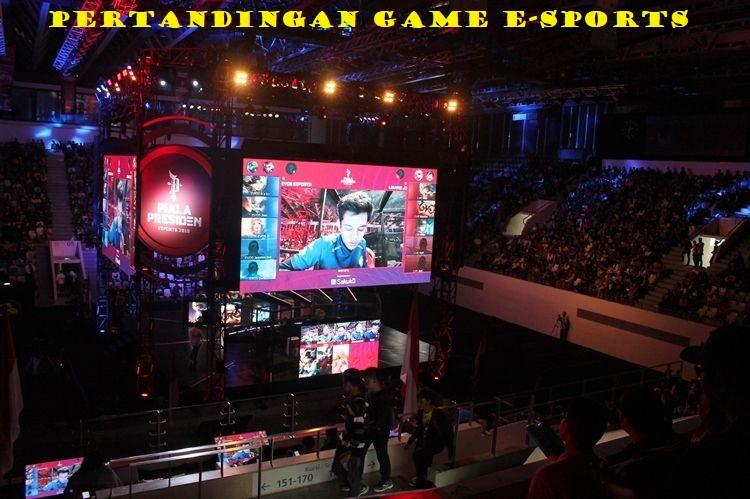 Pertandingan Game E-Sports