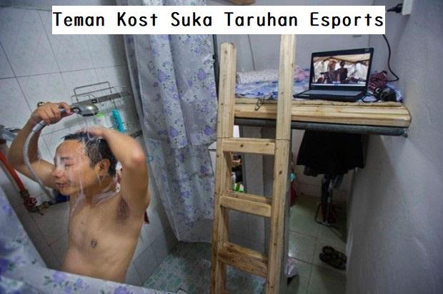 Teman Kost Suka Taruhan Esports